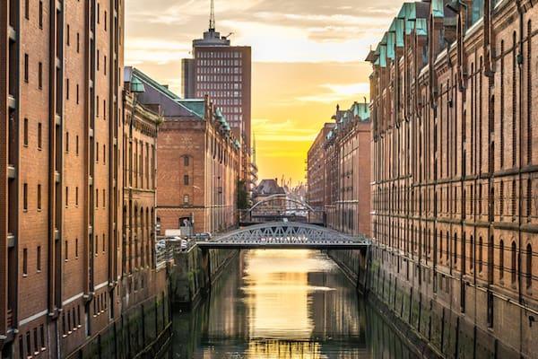 Umzug Hamburg und dann Kanal