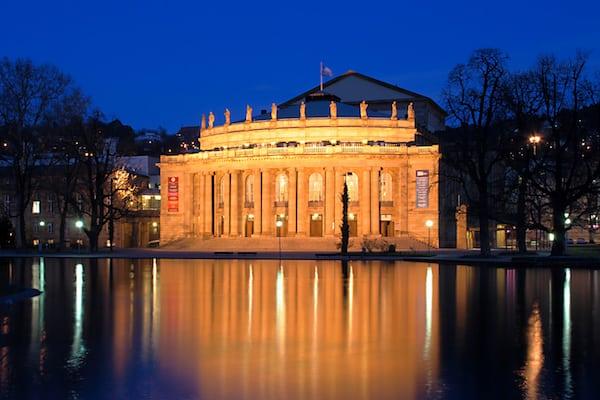 Umzug Stuttgart Info - Staatstheater