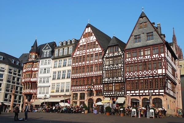 Innenstadt Frankfurt besuchen nach Umzug